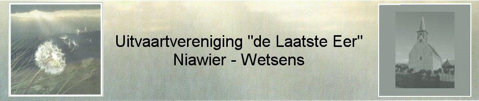 "Algemene Ledenvergadering Uitvaartvereniging ""De Laatste Eer"" Niawier-Wetsens @ Dorpshuis Nij Sion  | Niawier | Friesland | Nederland"